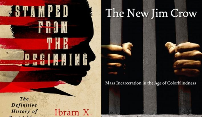 stamped from the beginning, the new jim crow, racial justice resources